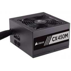 Corsair Power Supply 450W ATX 24 pin CX 450M CP-9020101-EU Active-PFC Retail