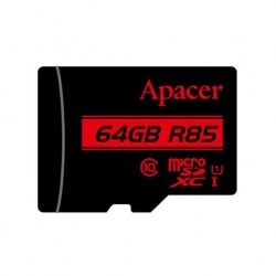 Memory Card Micro SDHC UHS-I U1 Class10 64GB Apacer R85