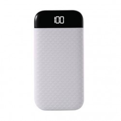 Fast Charging Power Bank WK 10000mAh SUTEN White WP-077