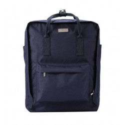 Double Laptop Backpack WK Dark Blue WT-B10