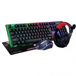 Gaming Set 4 in1 Zeroground KB-1800GUHMS ADACHI